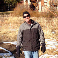 David Sorenson in Mammoth Lakes, CA